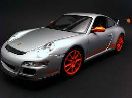 porsche gt3 rs orange 911 type 997 gt3 rs grey orange 1 18 welly 18015w