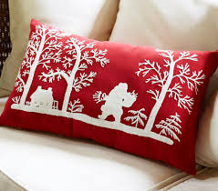 Decorative Christmas Pillows Throws by Holiday Pillows U2013 Joan Nahurski Textile And Product Design