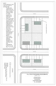 museum floor plan requirements 17 5 115 fences walls and hedges code of ordinances