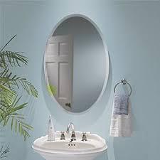 Medicine Cabinets Amazon Com Amazon Com Jensen S368244ovwh Metro Oval Recessed And Surface