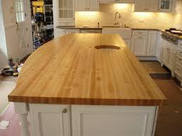 backsplash edge of cabinet or countertop butcher block light birch butcher block countertops white granite