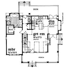 farmhouse style house plan 3 beds 2 00 baths 1583 sq ft plan 47 384