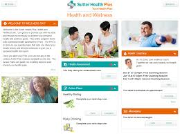 Sutter Health Doctors And Hospitals New Sutter Health Plus Health And Wellness Site Sutter Health