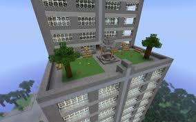 Minecraft Project Ideas Modern Double Skyscraper Minecraft Project