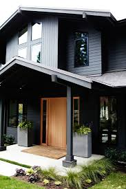 Front Door Colors For Gray House Pretty Paint Color Combination We U0027d Have A Natural Shingle Door
