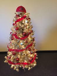 san francisco 49er u0027s red and gold treetopia christmas tree