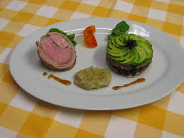 chartreuse cuisine noisettes d agneau chartreuse de courgette artichaut barigoule