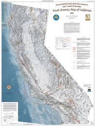 california map detailed cgs 2010 fault activity map of california