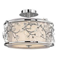 Kichler Lighting Lights by Kichler Lighting 42306 Jardine Collection Ceiling Semi Flush