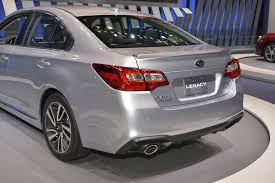 subaru legacy black rims 2018 subaru legacy brings subtlety to chicago auto show