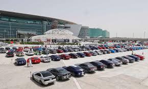 lexus club dubai 300 mustang parade in dubai to celebrate iconic pony car u0027s