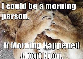 Morning People Meme - i could be a morning person if http jokideo com i could be a