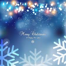 light color christmas winter snow background with trees