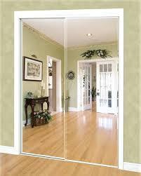 Mirrored Sliding Doors Closet Mirror Sliding Closet Door Aerojackson