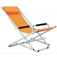 sedia sdraio giardino sedie sdraio in acciaio 2pz colore arancio o avion per arredo