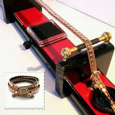 wrap bracelet tutorials images Diy jewelry making tool deluxe loom for leather bead wrap jpg