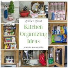ideas to organize kitchen how to organize deep kitchen drawers where to put things in