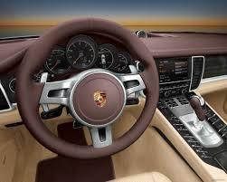 Porsche Panamera Brown - porsche panamera 3d brown car interior cars drawed porsche