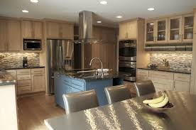Kitchens With Light Cabinets Light Brown Kitchen Cabinets Oepsym