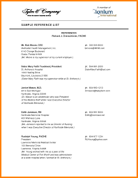 Resume Templates Reference Page Resume Reference Page Template Health Symptoms And Cure Doc