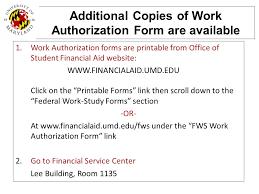 federal work study student orientation ppt video online download