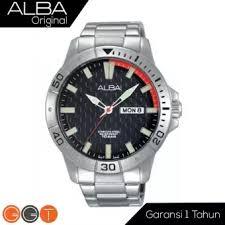 Jam Tangan Alba Analog alba analog jam tangan pria stainless steel black