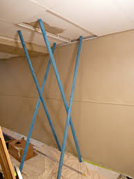 Basement Ceiling Paint My Trick For Painting The Drop Ceiling In The Basement Basement