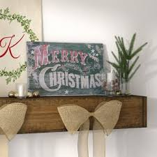 rustic christmas decorations rustic christmas decorations you ll wayfair