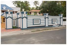 home design education modern compound wall design irrational kerala designs education