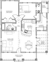 2 Bed Bungalow Floor Plans Floor Plan For Affordable 1 100 Sf House With 3 Bedrooms And 2