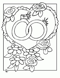 wedding coloring pages coloringsuite com