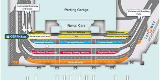 Portland Parking Map Boarding Locations Oregon Express Shuttle