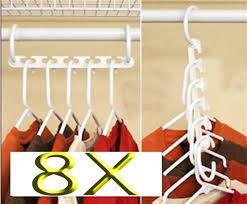 amazon com 8 x space saver wonder magic hanger closet organizer