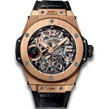 golden ferrari with diamonds hublot big bang tourbillon power reserve 5 days king gold big