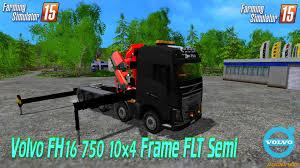 2015 volvo semi volvo fh16 750 10 4 frame flt semi v2 0 for fs 2015 zagruzka