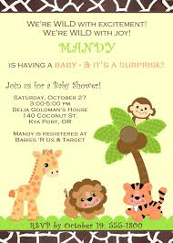 baby shower invitations boy animals new invitations woodland
