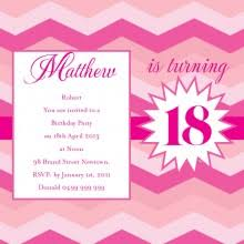 personalised 18th birthday invitations from impressive invitations