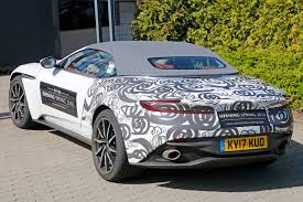 aston martin rapide volante possible when prototypes become mobile billboards aston martin db11