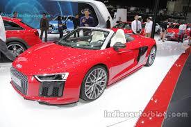 Audi R8 Red - 2016 audi r8 spyder auto china 2016