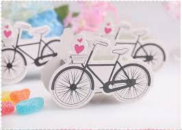wedding favors wholesale wedding favor box print bicycle paper small gift chocolate