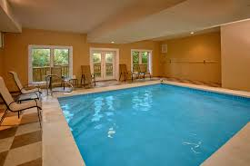 swimming pool room gatlinburg cabins with indoor pools for rent elk springs resort