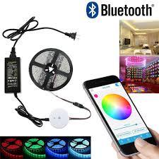 led strip light controller diy smart bluetooth rgb app led controller 5m rgb led strip light
