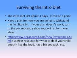 how to start the specific carbohydrate diet for a child with