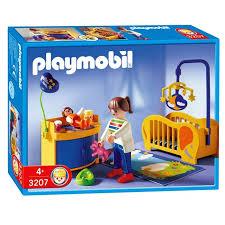 playmobil chambre bébé playmobil maman chambre de bébé achat vente univers miniature