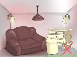 Ways To Decorate A Basement Apartment WikiHow - Basement apartment designs