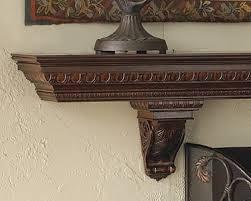 Corbels For Shelves Commodore Wood Mantel Shelf Fireplace Mantel Shelves