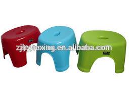 anti slip thicken plastic oval bath stool buy stackable plastic