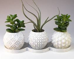 Planters U0026 Vases Shopping Online For Home Decor Decor Online by Planters U0026 Pots Etsy