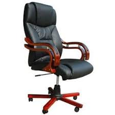 fauteuil bureau cuir bois fauteuil de bureau cuir et bois intérieur déco