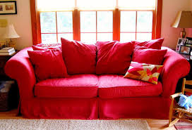Ikea Sofa Red Contemporary Red Leather Loveseat Ikea House Decorations And